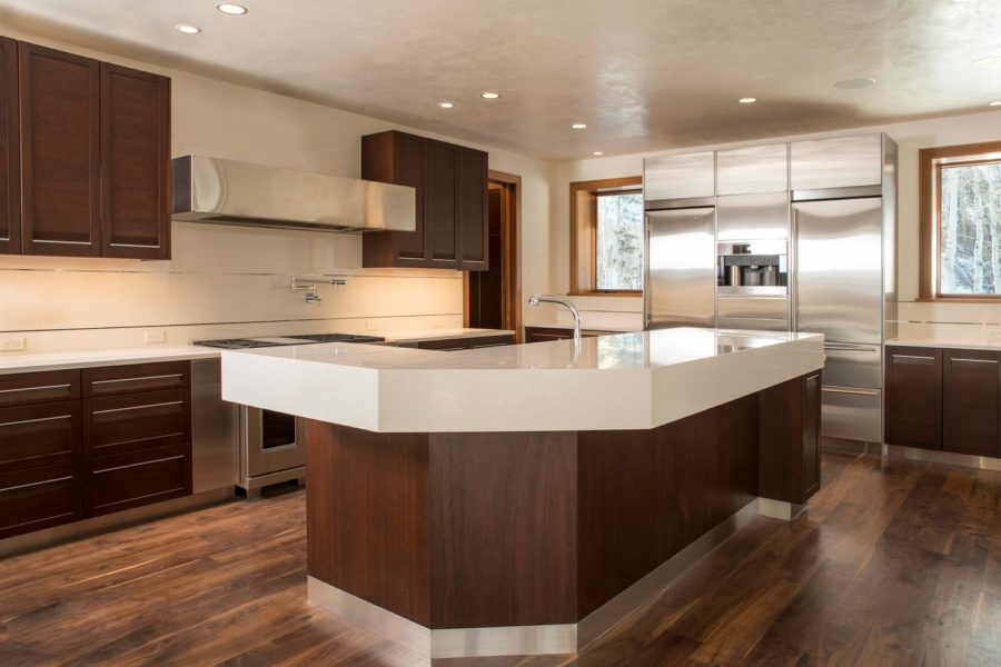 446 Forest Road, Vail, Colorado residence modern kitchen